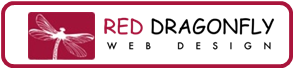RED DRAGONFLY Web Design logo